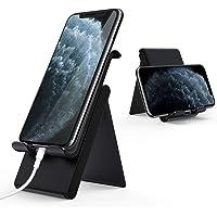 Lamicall Handy Ständer, Handy Halterung Verstellbare - Faltbarer Halterung, Halter für Phone 11 Pro, Xs Max, Xs, XR, X, 8, 7, 6 Plus, SE, 5, Samsung S10 S9 S8 S7, Huawei, andere Smartphone - Schwarz