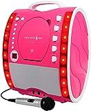 The Singing Machine SML343 Karaoke System Pink