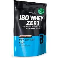 BioTech USA Iso Whey Zero - Weiproteïnepoeder Isolaat met Glutamine en BCAA - Geen Suiker - Geen Palmolie (500g…