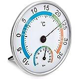 Hygromètre de précision VARA, hygromètre moderne pour le contrôle de la température et de l'humidité / VARA mètre climatique / Thermo-hygromètre - avec garantie de remboursement de 2 ans