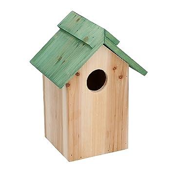 Nichoir Mangeoire Nichoir Mesange Nist Maison Boite A Nid D Oiseau En Bois