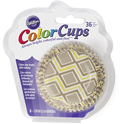Wilton 415-8767 36 Count Ikat Pattern Cupcake Liners