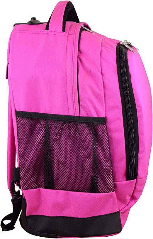Denco NCAA Texas A/&M Aggies Expedition Wheeled Backpack 19-inches Pink
