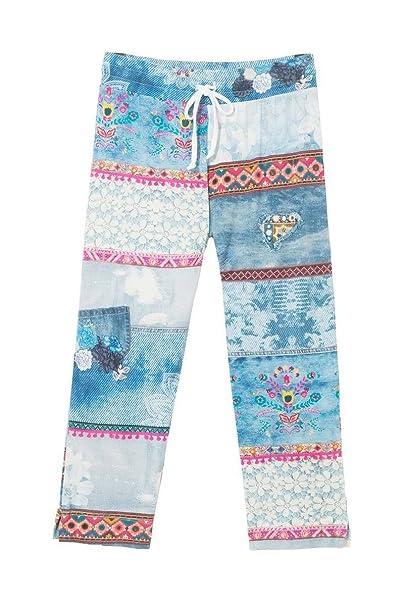 Desigual 18SNPK075151 - Pantalones de Pijama - Exotic Summer (S)