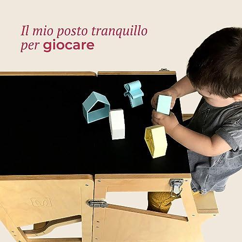 Lernturm von Bianconiglio Kids