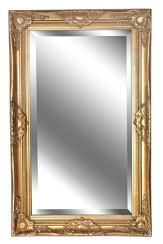 Spiegel Wandspiegel antik gold Barock DANA 80 x 50 cm B.U.S. Wohnstyle GmbH