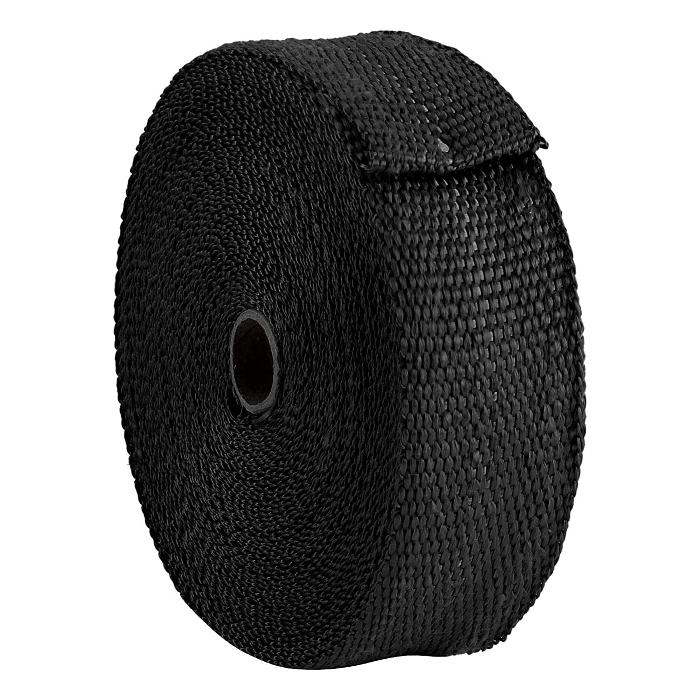 15m Titan Hitzeschutzband Basaltfaser Auspuffband mit Kabelbinder 50mm 1400/°C BALLSHOP 2