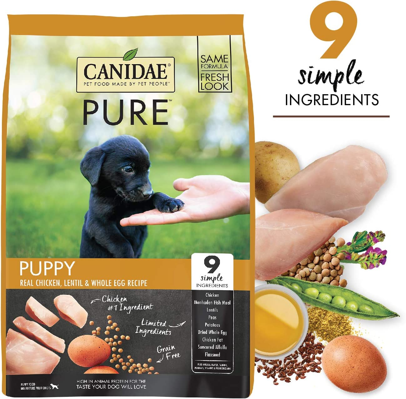 9. CANIDAE Grain-Free PURE Puppy
