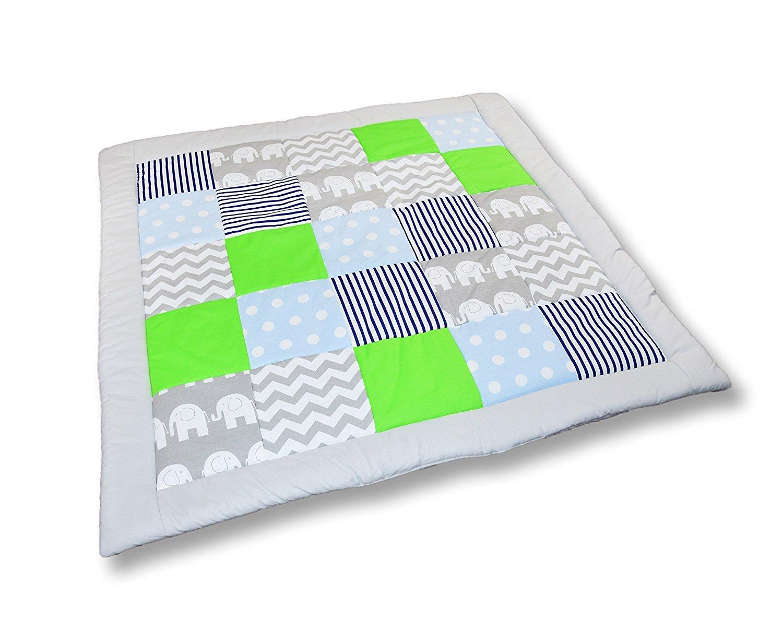 Ami lianzoo® gattonare Patchwork coperta gioco coperta coperta (M015)