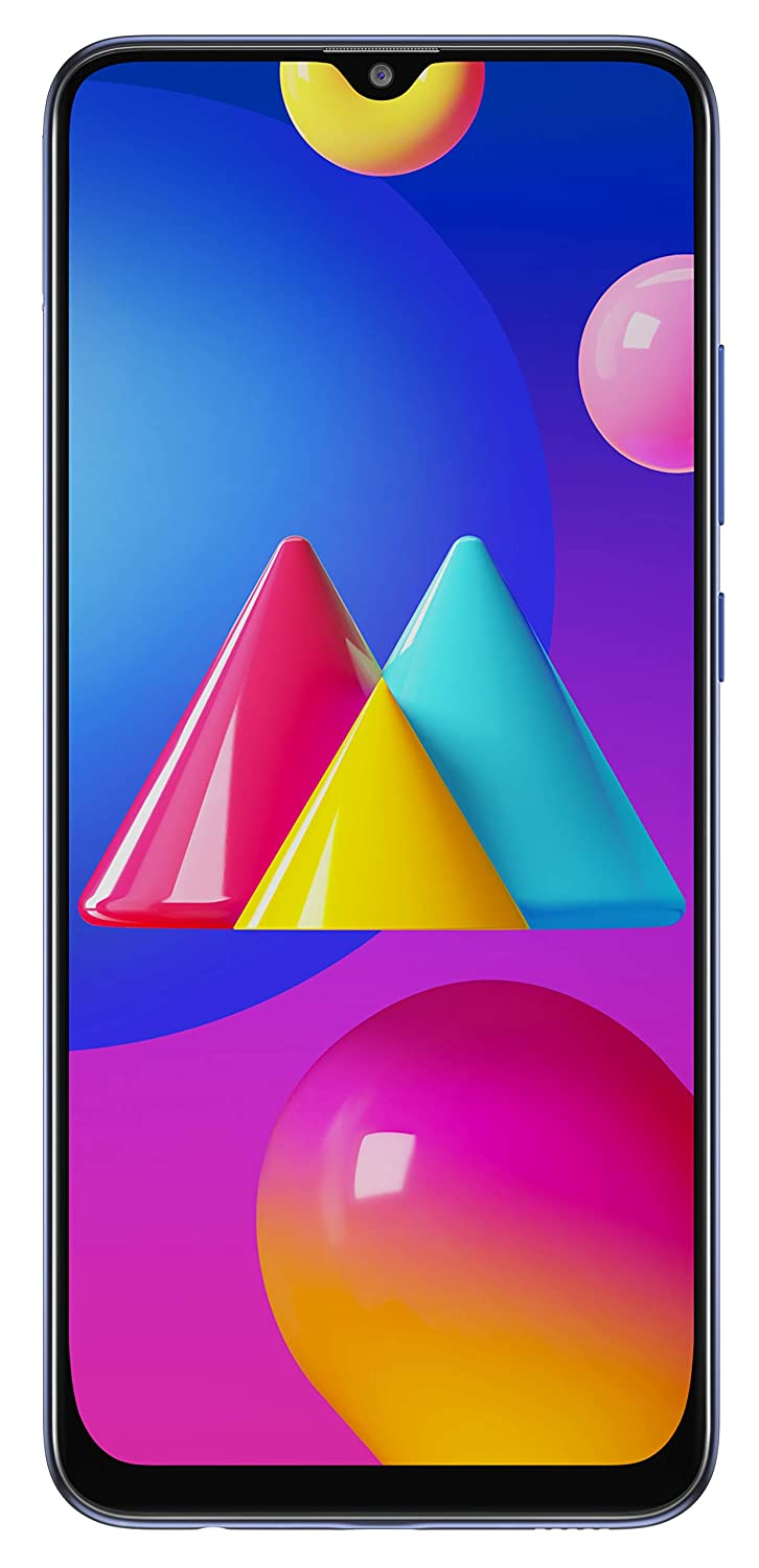 Samsung Galaxy M02s (Blue,3GB RAM, 32GB Storage) | 5000 mAh | Triple Camera