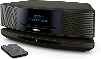 Bose Wave SoundTouch Music System IV works with Alexa Platinum Silver