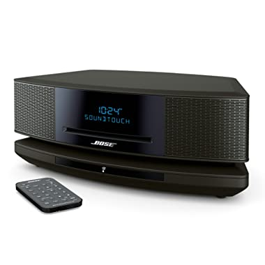 Bose Wave SoundTouch Music System IV, works with Alexa, Espresso Black - 738031-1710