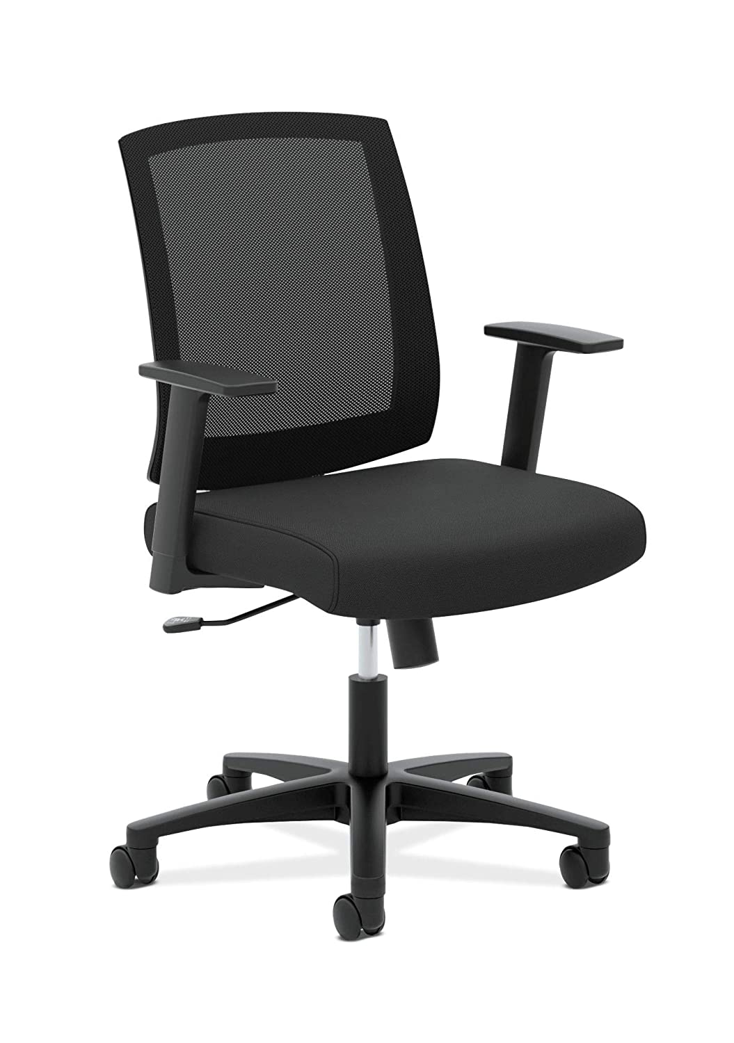 HON Torch Mesh Task Chair - Mid-Back Office Chair,Black(HVL511)