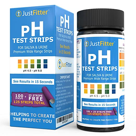 4 opinioni per pH Test Strips for Testing Alkaline and Acid Levels in the Body. Track & Monitor