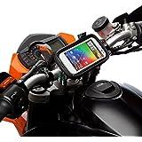 Rapide Déblocage Moto Vélo Support Guidon Kit + Résistant À L'eau étui Pour Large TéléPhones Portables