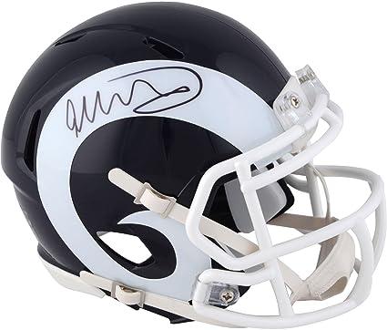 JSA Certified Authentic Autographed Signed Mini Helmets Todd Gurley Autographed Signed Los Angeles Rams Mini Helmet