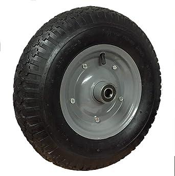 Rueda para carretilla neumática con Rodamiento 4.80/4.00-8 Plataformas Carros