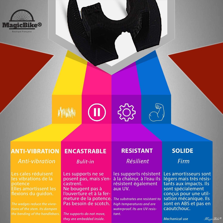 MagicBike® Xiaomi M365 / M187 Amortiguador de Vibraciones ...