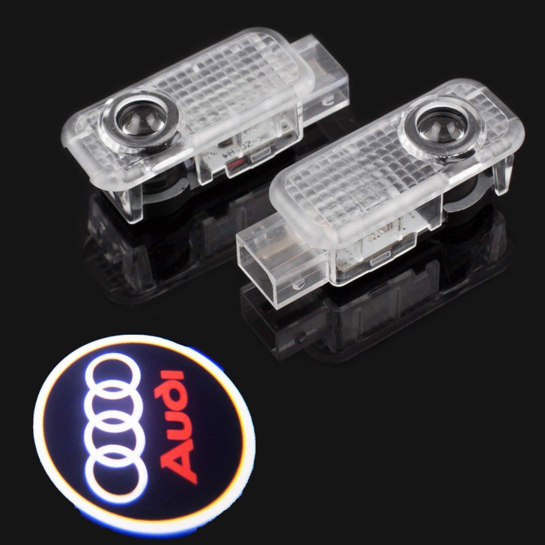 4 Pack LED Auto Projektor Logo Ghost Shadow licht t/ürbeleuchtung Willkommen Lampe f/ür Audi A8 A7 A6 A5 A4 A3 A1 R8 TT Q7 Q5 Q3 Zobir Autot/ür Logo Licht
