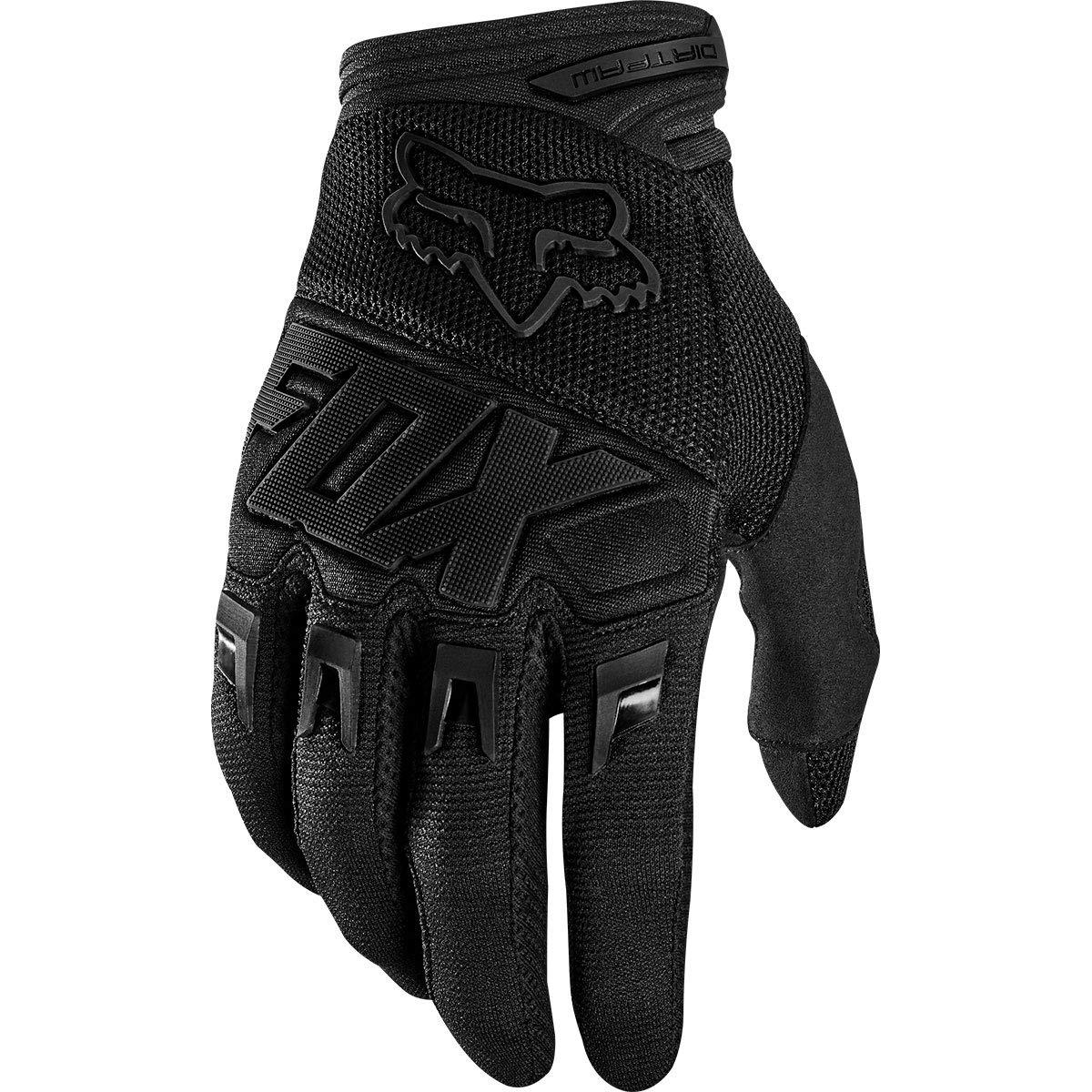 Fox Racing Dirtpaw - Race Men's Off-Road Motorcycle Gloves - Black/Black / 2X-Large