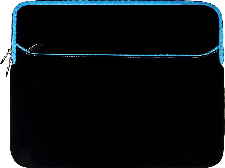 Laptop Sleeve Blue 15.6 15 inch for Dell G3 3579 3590, Inspiron 15 7586 7580 3573 7572 7573 5575 7590 5582 3585, Latitude 15 5590 5591 3590 5500 5501 3500, Precision 15 3540, Vostro 15 3584 7590