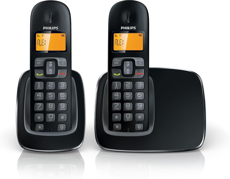 Philips Cd1902B23 - Teléfono digital (Inalambrico, Identificador De Llamada, Digital, Duo): Amazon.es: Electrónica