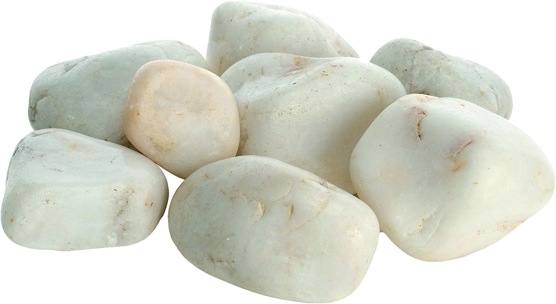 biOrb 46053 Bolsa con Piedras Decorativas de Mármol, Un tamaño, Blanco