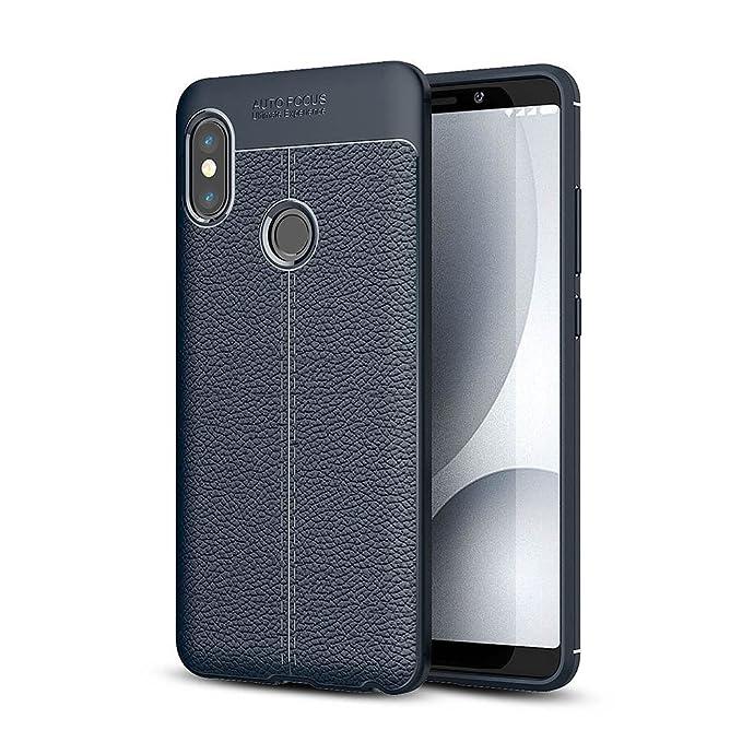 Caler ® Case Xiaomi Redmi Note 5 Funda con Absorción de Choque Flexible y Duradera para