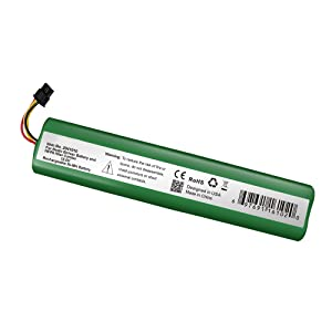 ExpertPower 12V NiMh Battery Pack for Neato Botavac Series and Botvac D Series Robots, 70e, 75, 80, 85, D75, D80, D85 - P/N 945-0129, 945-0174