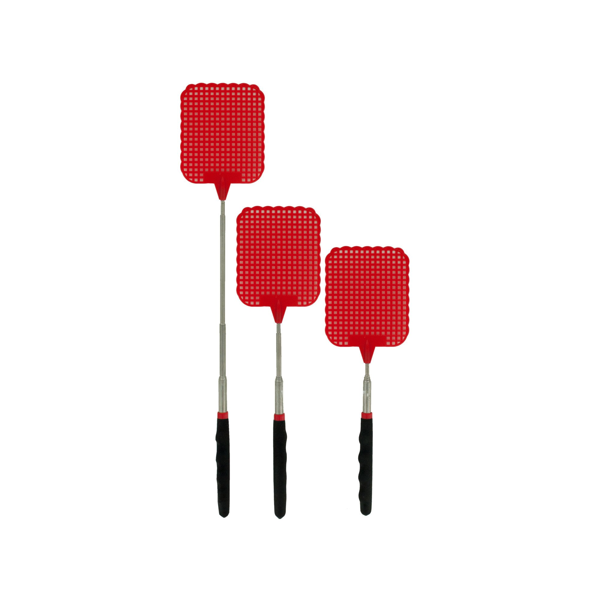 123-Wholesale - Set of 24 Telescopic Fly Swatter Countertop Display - Household Supplies Pest Control by 123-Wholesale (Image #1)