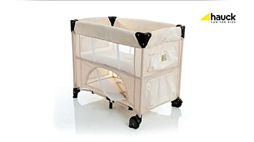 Hauck 608081 reisebett dreamn care 11 zoo 89x51 cm: amazon.de: baby