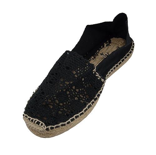 Alpargatus - Alpargata Plana Ganchillo, Mujer: Amazon.es: Zapatos y complementos