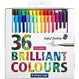 Staedtler Triplus Fineliner Color Pen - 36 Pieces