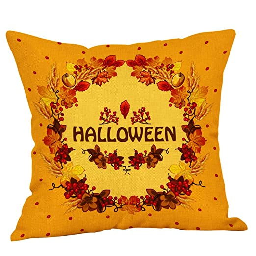 LUCKYCAT Kissen luckycay Halloween Monster cráneo Calabaza ...