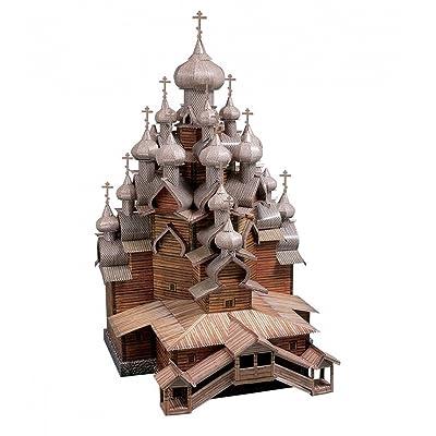 CLEVER PAPER- Puzzles 3D Iglesia de la Transfiguración, Rusia (14151): Juguetes y juegos