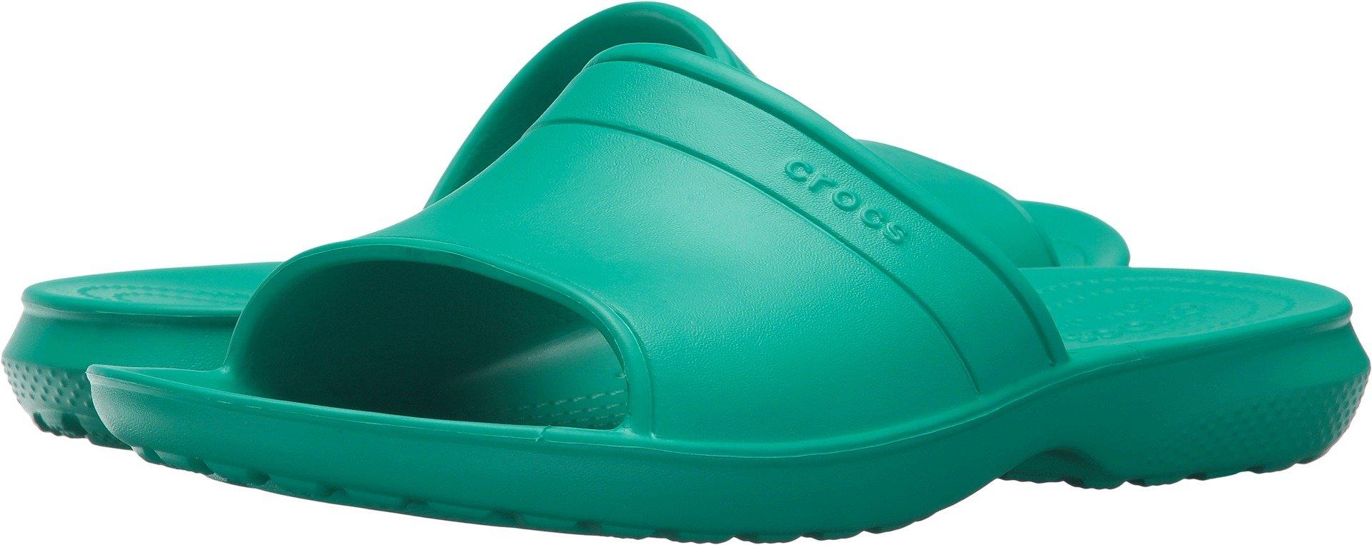 Crocs Classic Slide Sandal, Tropical Teal, 5 US Men/7 US Women M US