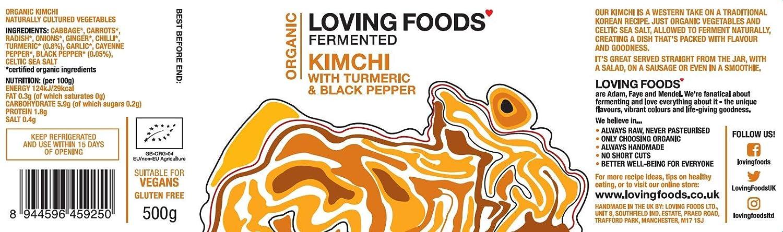 Loving Foods Orgánico Jugo Cúrcuma & Pimienta Negra de ...