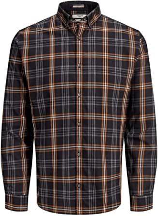 Jack & Jones Jprfocus Check Shirt L/S Camisa para Hombre
