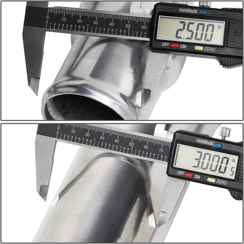 DNA Motoring YIW-008 Aluminum Intercooler Pipe Kit