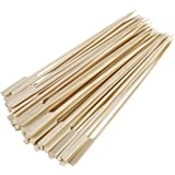 "Gmark Bamboo Paddle Sticks Skewers 10"" 100pc/Bag GM1074"