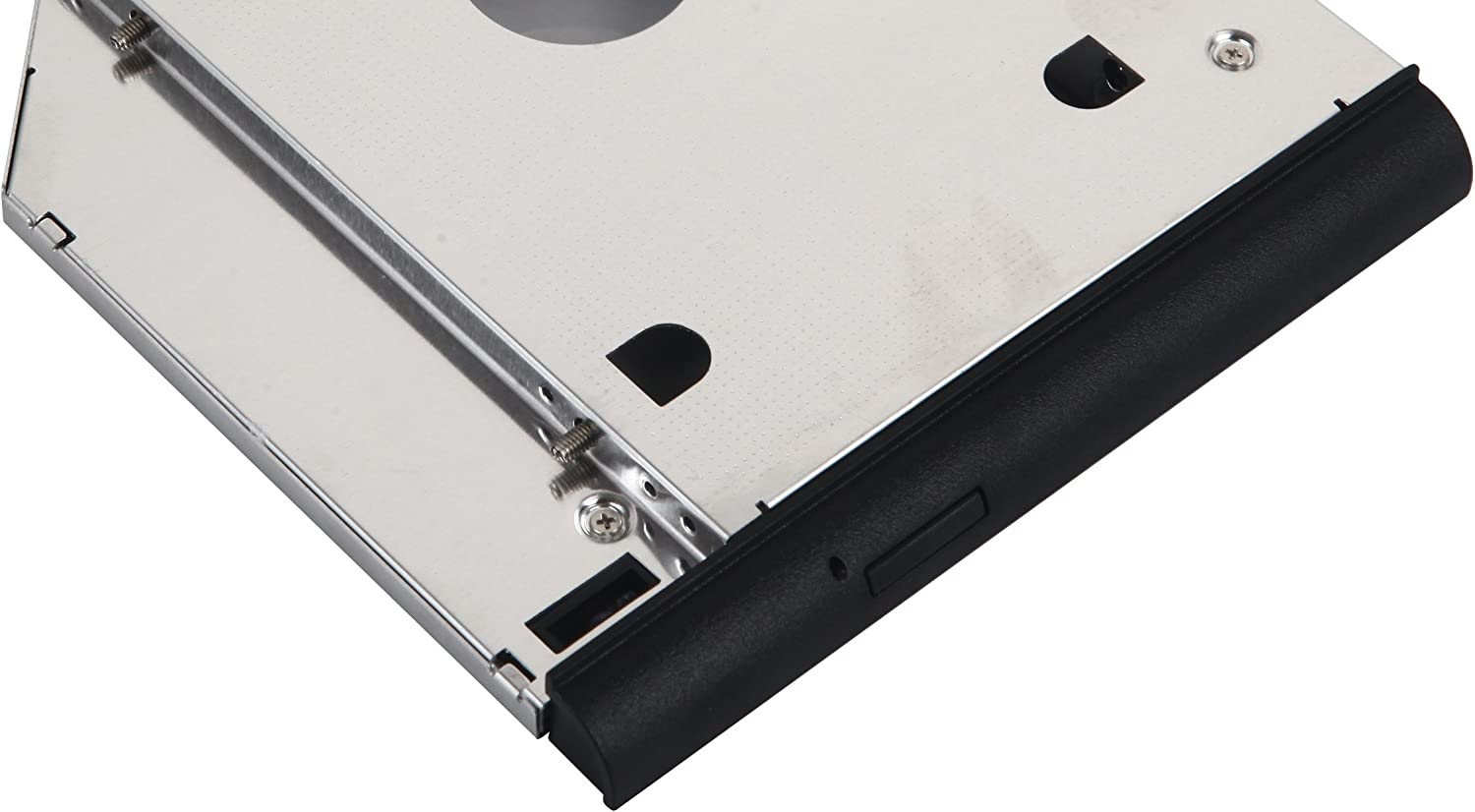 DY-tech 2nd HDD SSD Hard Drive Caddy for HP EliteBook 6930p 8440p 8530p 8540p with Faceplate bezel Mounting Bracket