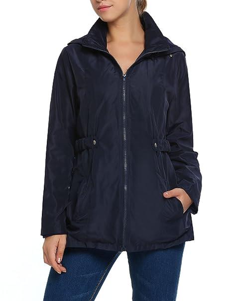 7fd8f0acf Amazon.com  Beyove Women s Waterproof Rain Jacket Lightweight ...