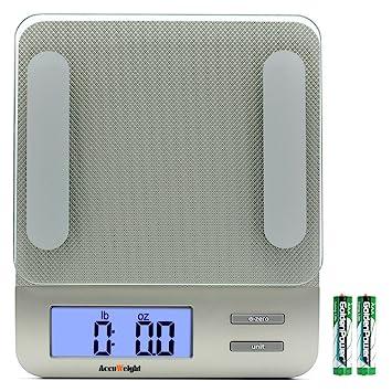 ACCUWEIGHT Báscula Balanza digital de Cocina Gramo con Retroiluminación Pantalla Báscula Balanza para electrónico cocinar Carne Alimentos Peso, ...