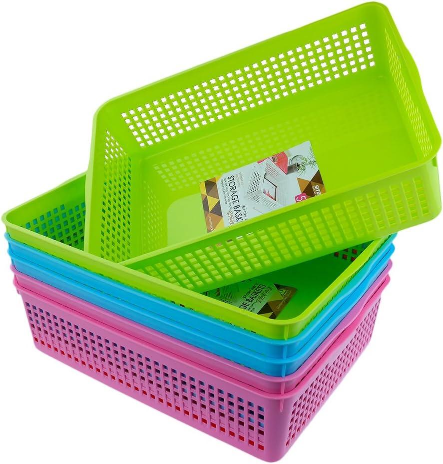 Anbers Storage Baskets/ Tray Baskets, Set of 6