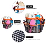 Attmu Portable Mesh Shower Caddy with 8 Storage