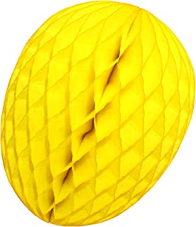 product image for 3-Pack 9 Inch Honeycomb Tissue Paper Easter Egg Decoration (Yellow)