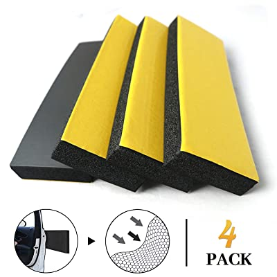 Keliiyo 4 PCS Garage Wall Protector Car Door Protector Garage Wall Guard for Car Doors Self Adhesive NBR Foam Garage Car Door Protector Anti-Collision Waterproof for Warehouse Parking Assist: Automotive