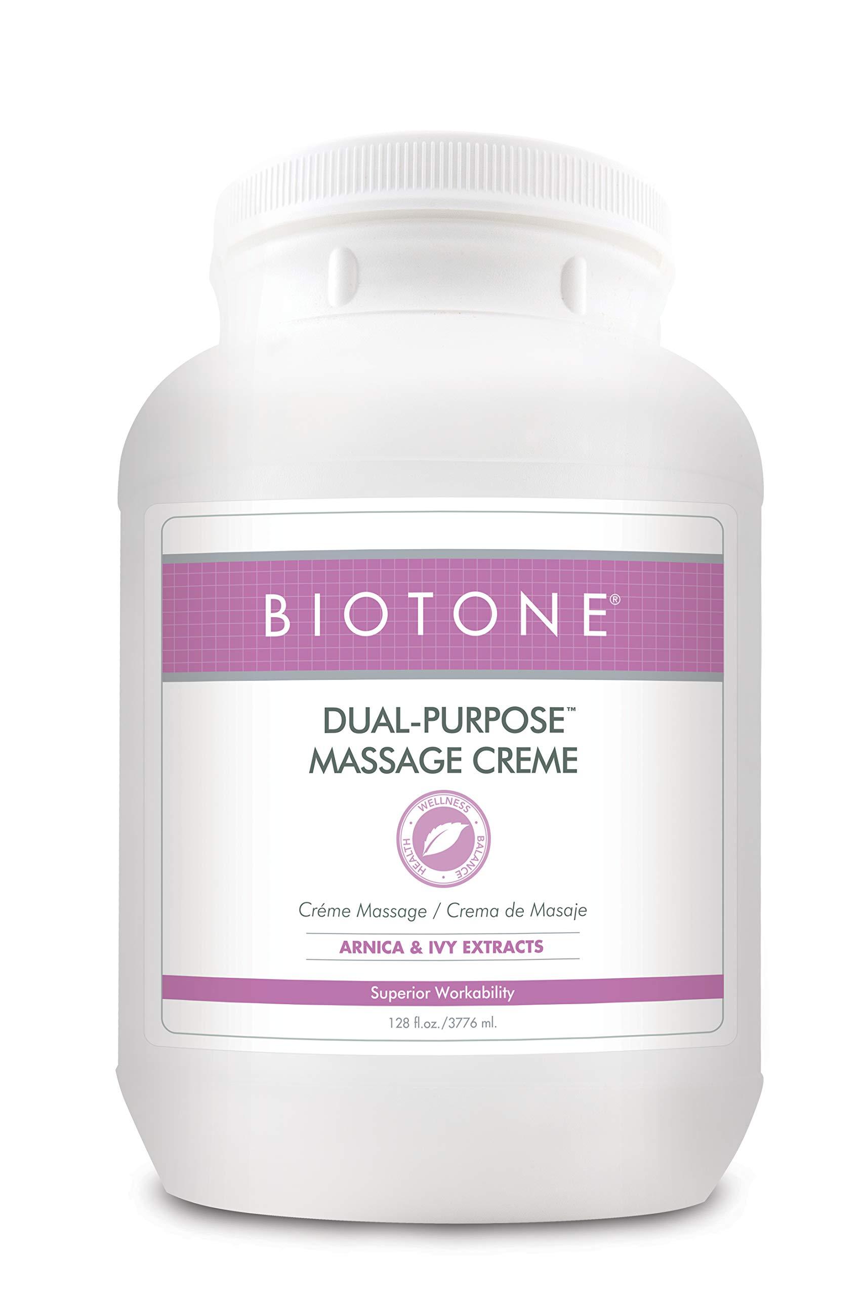 BIOTONE Dual-Purpose Massage Creme - 1 Gallon by Biotone (Image #1)