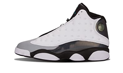 super popular 94f4d 9afae Nike Mens Air Jordan 13 Retro Grey Toe White Black Cement Grey-True