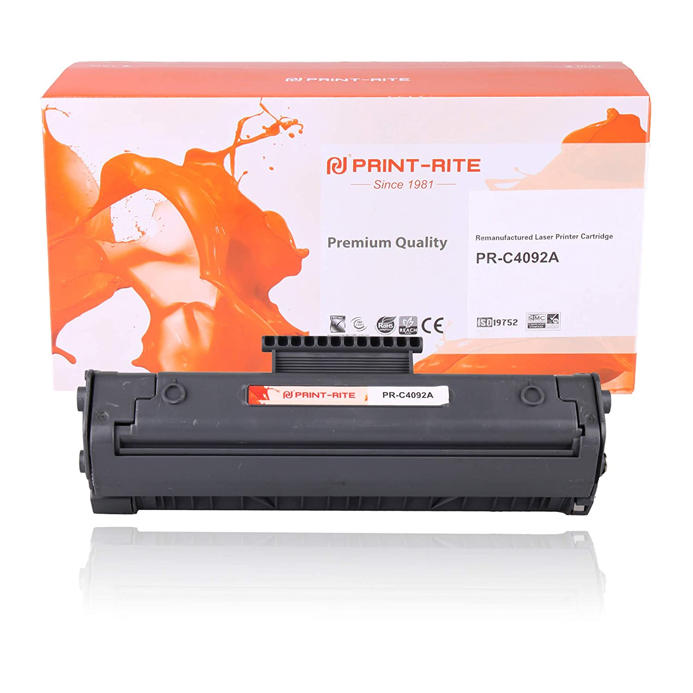 Print-Rite Compatible HP c4092a Negro Cartucho de tóner para ...